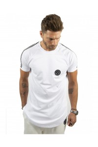 T-shirt tape tees-white
